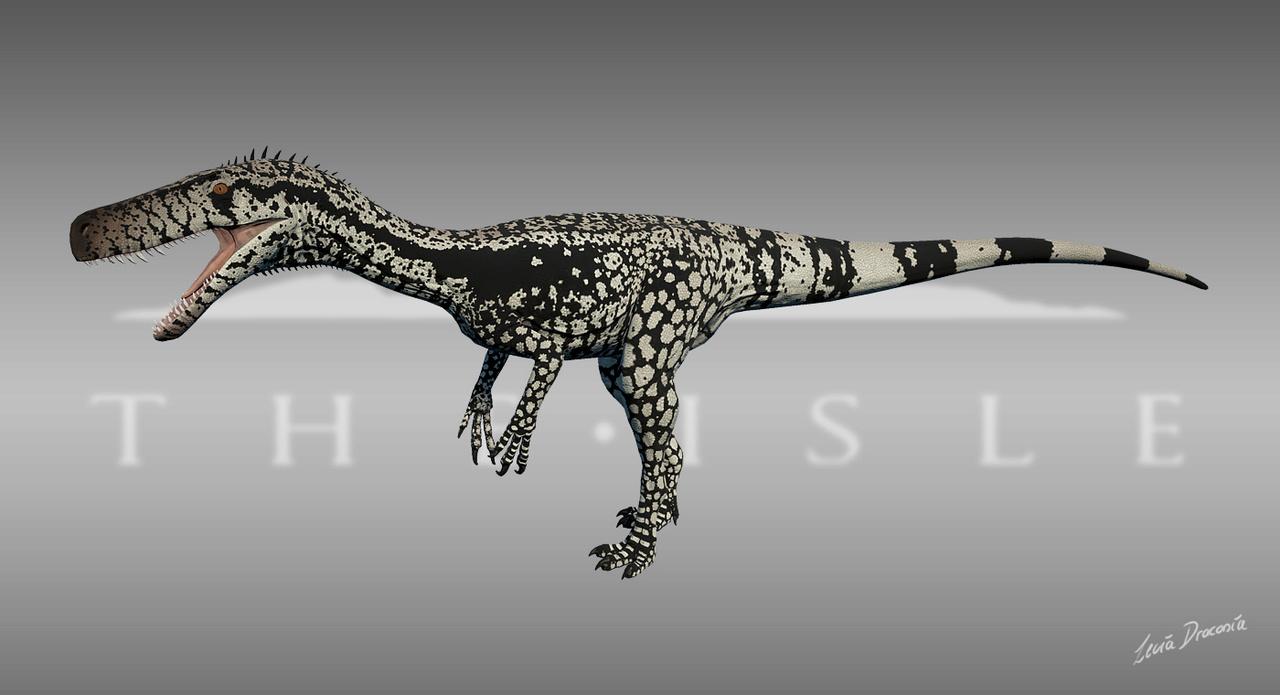 Monster Lizard Herrerasaurus