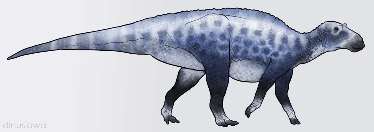 Frozen Maiasaura
