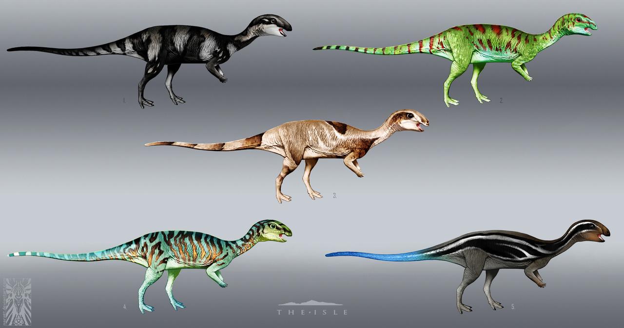 Dryosaurus Skins