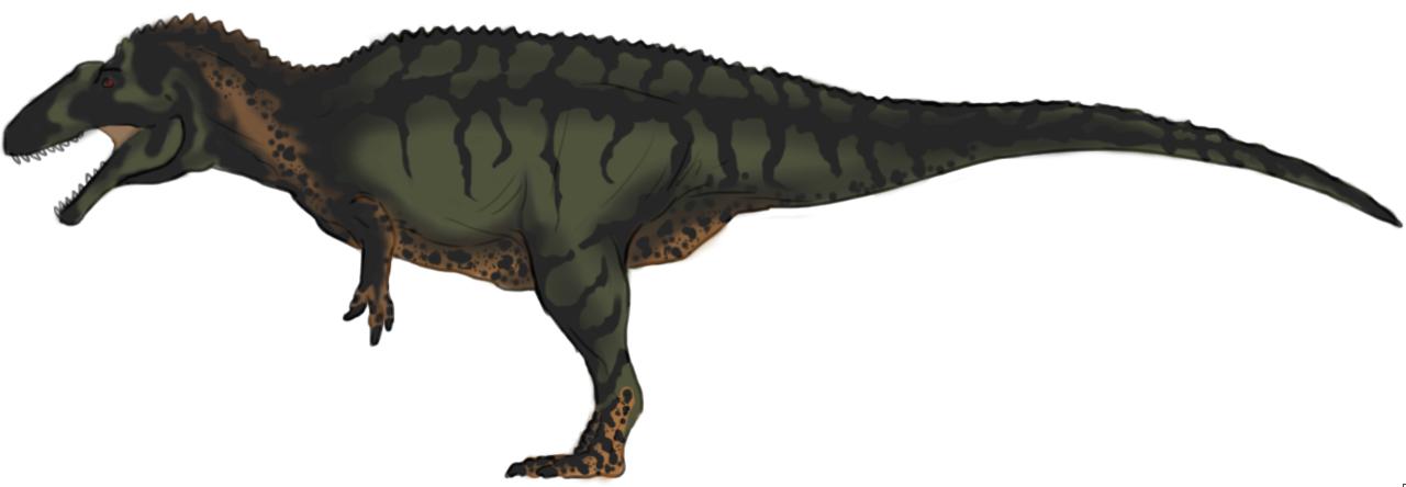 Green Acrocanthosaurus