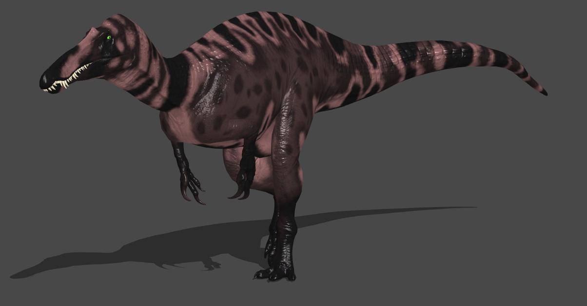 Mud Suchomimus