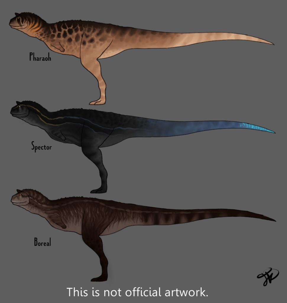 The Isle: Carnotaurus Skins 1