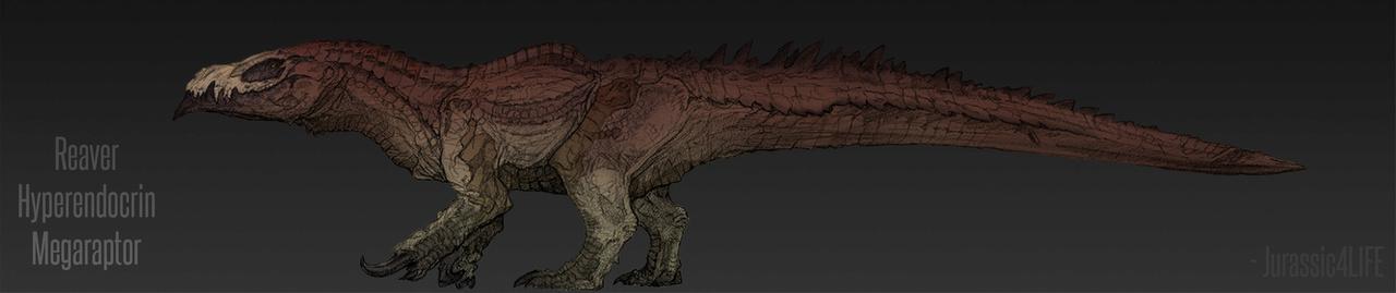 Reaver Hyperendocrin Megaraptor Skin