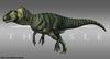 Fanmade Allosaurus Skin by Paleocolor.