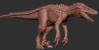 Official Hyperendocrin Utahraptor Model Art