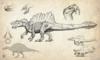 Official Hyperendocrin Spinosaurus Concept Art