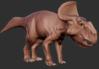 Official Protoceratops Model Art.