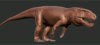 Official Rauisuchus Model Art