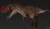 Official Red Ceratosaurus Skin