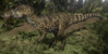 Official Spotted Allosaurus Skin