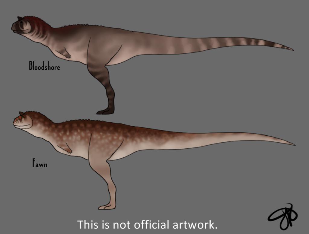 The Isle: Carnotaurus Skins 2