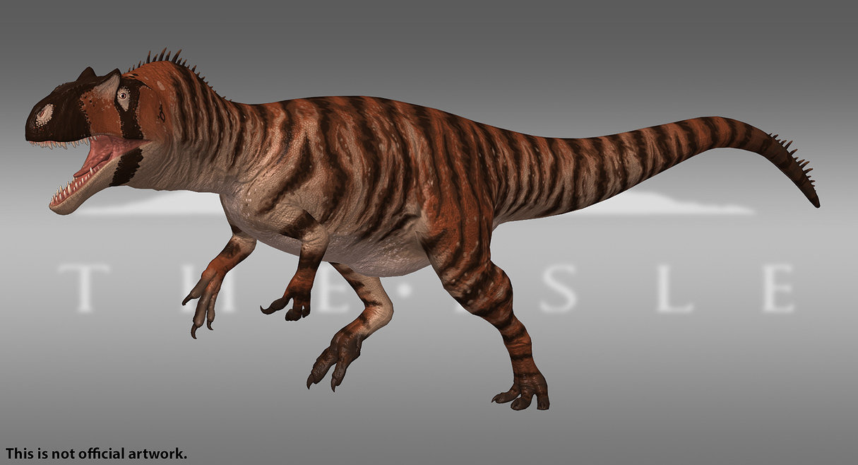 Tiger Allosaurus Skin