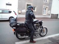 Old stones rider