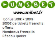 Mot de passe Clubber Night Club Poker sur Unibet le 15/07 à 21h00 4014839660