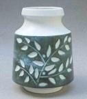 2035 Leaf Spray Vase