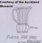 2124 fluted jug vase 12.12.77