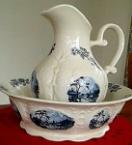2149 antique water jug 2150 antique wash basin 11.12.1982