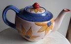 catherine anselmi teapot pink & blue