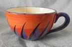 catherine anselmi orange & purple