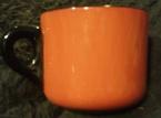 catherine anselmi railway mug tangerine pattern