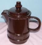 1084 Chunky Coffee Pot - Lid 1085 - 22.4.70