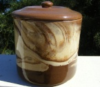 Te Rona #SJ2 lidded storage jar