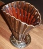 0396 fan vase with bow [blanks supplied by crown lynn] c1963