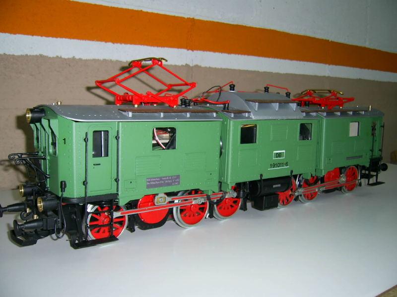 Construccio locomotora DB 191 Maquinista