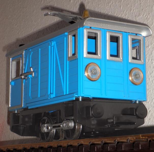 furgo autmotor fabricat amb playmobil Jaume