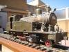 Locomotora MTM del tren d'Olot