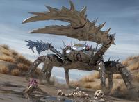 Crabe monstrueux
