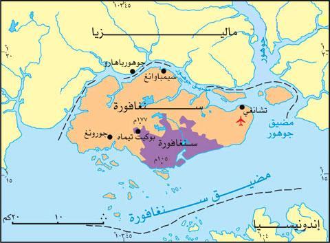 خريطة سنغافورة Singap10