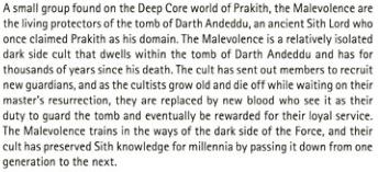 Darth Wyyrlok III Respect Thread Malevo10