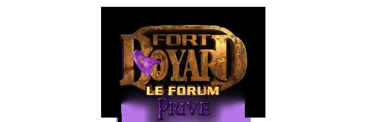 Forum privé externe FBLF