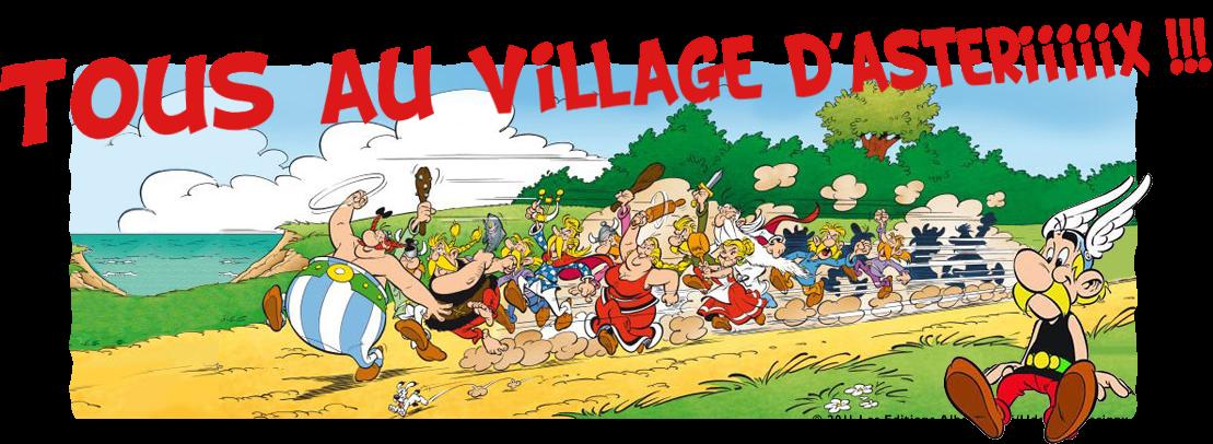 Le village d'Astérix